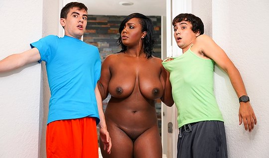 Two hot young boy fuck Mature at the same time Apatow mulatto...