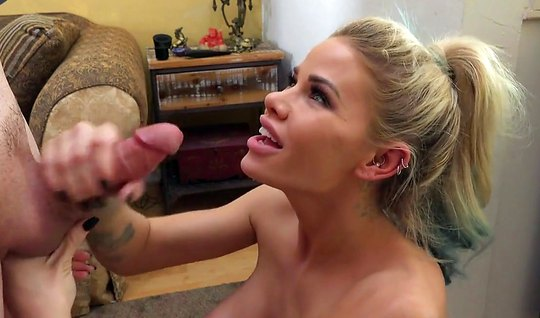 Blond girl loves anal sex and cumshot in the final...