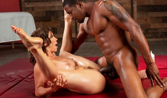 Nigger got a big dick and ripped them juicy vagina Mature brunette...