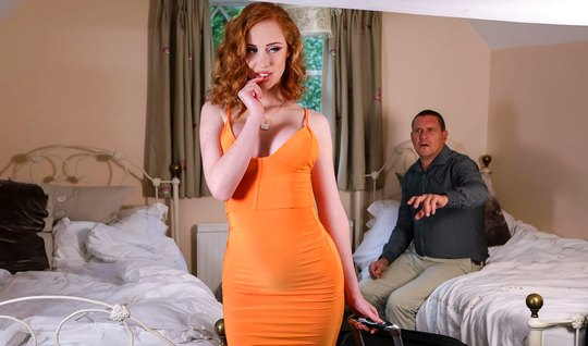 Redhead wife cheating on her husband big dick with her best friend