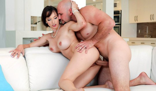 Mature mom with big milkings in the pose of cancer sticks pussy whippi...