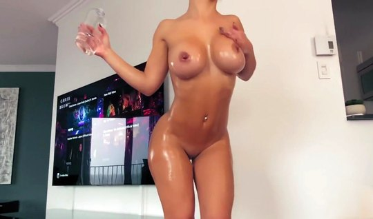 Girl with big milkings spreads legs for home sex with a friend...