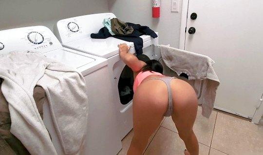 A man shot a home cinema, a Laundry room neighbor fuck cancer in the e...