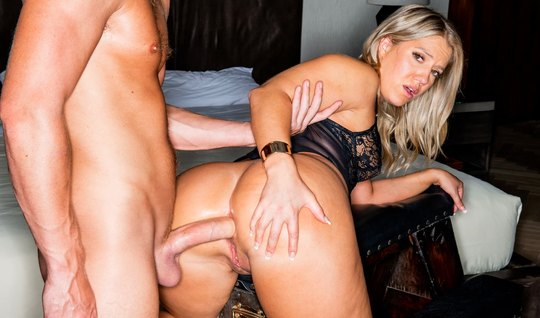 Big booty got ready for long anal sex with an athletic dude...